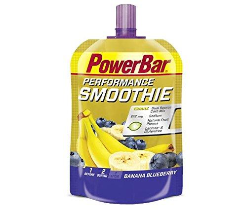 PowerBar Performance 8 x 90g Banane Smoothie und Heidelbeeren (Powerbar Banane)
