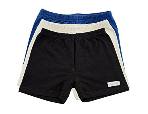 Girls Under Shorts - Navy, Khaki, Black 3 Pack School Collection