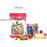 YEWJ Niños que se mueven las manos y los bloques huecos del cerebro, los juguetes de los niños Combinan el paquete, los bloques huecos de la inteligencia de los niños juguete
