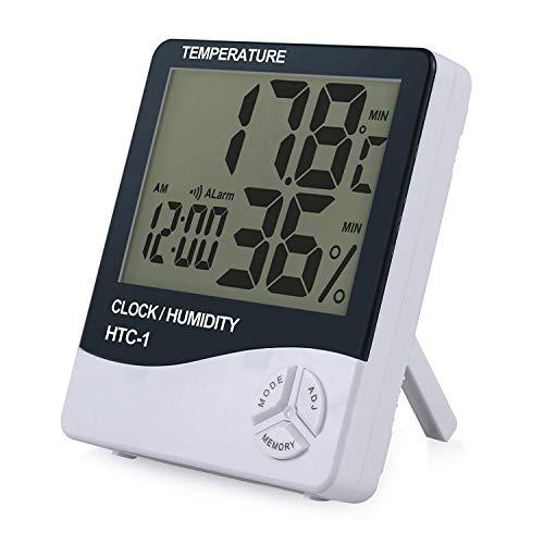 ESynic Digital Medidor Termómetro Higrómetro LCD
