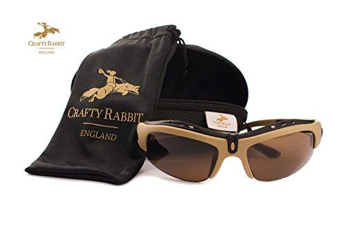 Polarisiert Angeln Gläser mit 5Wechselobjektive von Crafty Kaninchen England