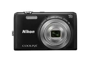 Nikon Coolpix S6700 Compact Digital Camera - Black (20.1MP, 10x Optical Zoom) 3.0 inch LCD