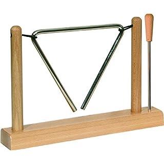 Goldon–Klangbausteine 33713Buchenholz Triangle stehen, mit Schlägel