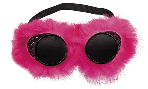 Boland 02624 Brille Fantasty Fluffy, One - Rave Motto Party Kostüm