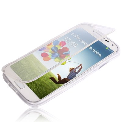 tpu-flip-cover-transparente-colore-bianco-per-samsung-galaxy-s7-edge-linea-trendy-di-aq-mobile