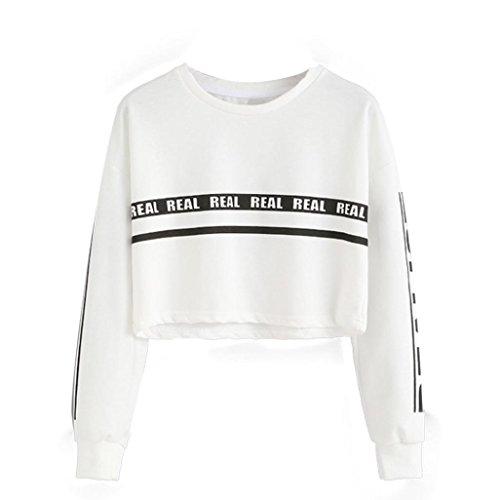 Anglewolf-Women-Fashion-White-Letter-Print-Crop-Sweatshirt