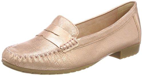 Caprice Damen Mokassin, Pink (Rosegold Metal 979), 40.5 EU