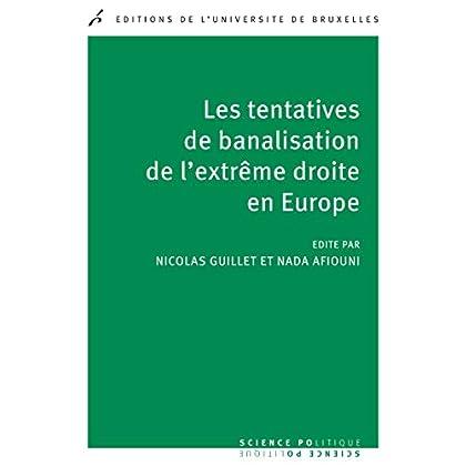 Les tentatives de banalisation de l'extrême droite en Europe: Sciences politiques (Science politique)