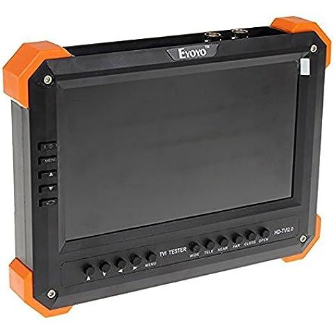 Seesii Schermo LCD X41TA 17,78 cm HD-TVI + AHD2 HDMI + VGA + 0, Video camera Test Tester CVBS 12V - Uscita
