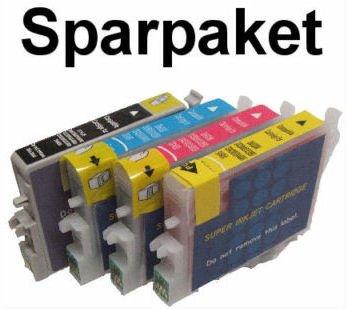 10 kompatible Patronen f. Epson Stylus Photo R240 R245 RX420 RX425 RX520 #9147