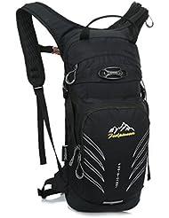 Skysper 12L Sac A Dos d'Hydratation Ultra-leger pour VTT/Randonnee/Course/Alpinisme Homme Femme en Nylon