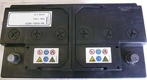 NX - Batterie voiture P Start 80-600 12V 80Ah +D - F17 ; F18