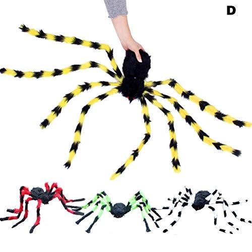 alloween Requisiten realistische Spinne Spielzeug Spielen Witze Streich Spielzeug lebensechte Tier Spinnen ()