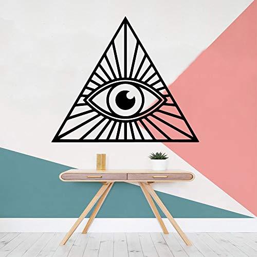 mlpnko Cartoon-Stil Augen Hauptdekoration Acryl Dekoration Kinderzimmer Dekoration Aufkleber 28x32cm