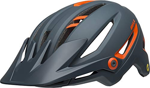 Bell Unisex– Erwachsene SIXER MIPS Fahrradhelm Ridgeline mat Slate/orange M