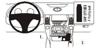 Brodit ProClip - 2009 Infiniti G35 Coupe