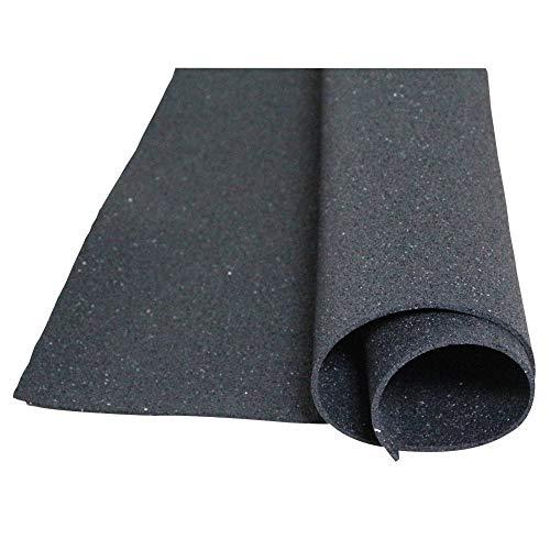 Acerto - Bodenschutzmatte aus Gummigranulat, 1x 1m, Dicke: 5mm, geeignet für jede Art von Boden und Anwendung -