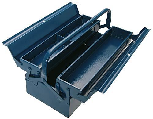 BGS 3301 | Montage-Werkzeugkoffer | 430 x 200 x 150 mm | 3 Fächer | Stahlblech