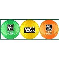 Nueva York Neon Landmark pelota de golf Variedad
