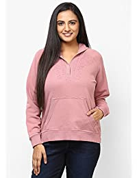 GRAIN pink Color Regular fit Cotton Jackets for Women