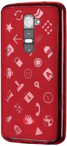 Cruzerlite Experience Case für LG G2 (nur Sprint/T-Mobile), rot