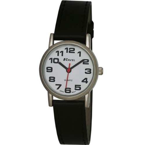 Ravel Unisex Easy Read Watch with Big Numbers