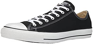Converse Chuck Taylor All Star Classic OX Low Top Sneak - Mono Black Converse: US Men 9.5 / US Women 11.5