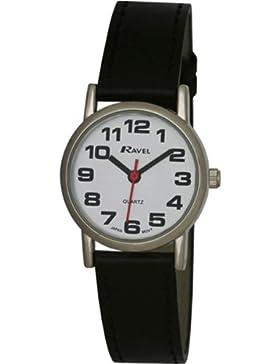 Ravel Damen-Armbanduhr Analog Quarz Kunststoff R0105.06.2