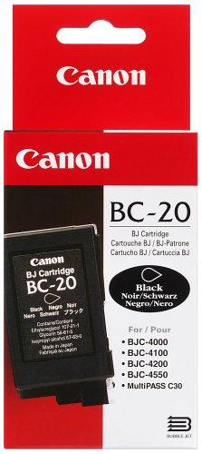 Preisvergleich Produktbild Canon BC-20 BK Schwarzdruckkopf (Tintenpatrtone), 44ml
