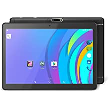 Yuntab 9.6 pollici 3G Tablet PC Quad-Core Phablet K98 Android 5.1 unlocked smartphone Webcam 2G, 3G/Wifi 1GB+16GB with dual camera Bluetooth, GPS, WIFI, IPS touch screen 1280X800 Metallo (Nero)