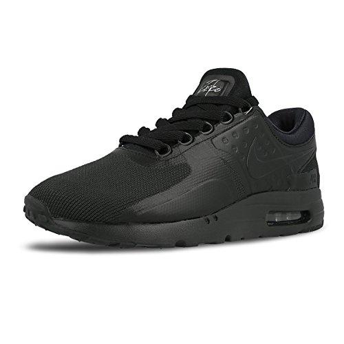 Nike Air Max Zero Sneakers Uomo Scarpe da corsa Ginnastica 876070006 Nero NUOVO