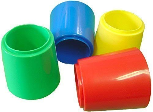 4 x GRAND stable anti-fuites EAU Brosse pinceau à peinture LAVE pots