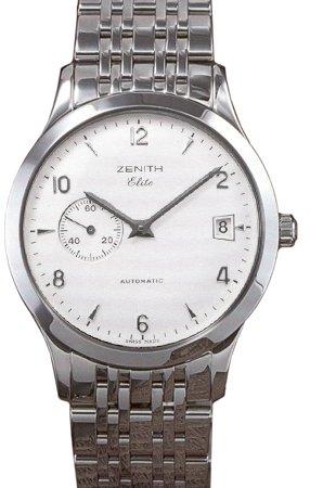 Montre  Zenith  - Affichage  bracelet   et Cadran  02-1125-680-01-M1126