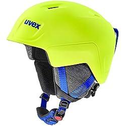Uvex Manic Pro Casque de Ski Unisexe Jaune Fluo 54-58 cm