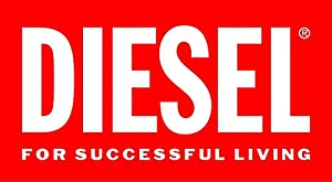 Diesel Sba - Reloj de cuarzo con correa de cuero para hombre, color negro de Diesel