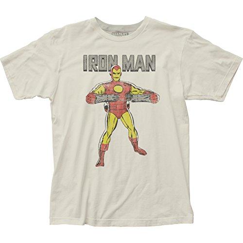 Iron Man Herren T-Shirt Opaque weiß weiß Weiß