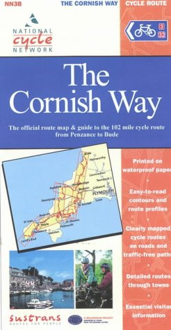 The Cornish Way Cycle Route (National Cycle Network Route Maps)