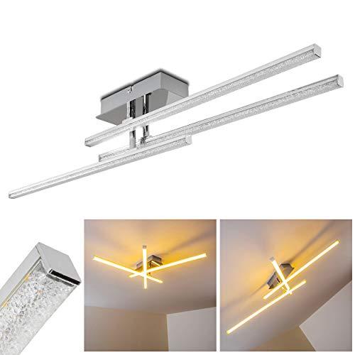 Lámpara de techo LED Georgina minimalista - 3000 Kelvin blanco cálido - 3x 15W - 1500 Lumens en total
