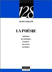 La poésie : Initiation aux méthodes d'analyse des textes poétiques