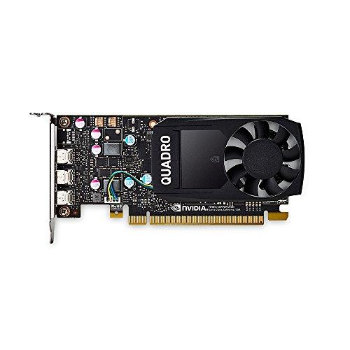 PNY VCQP400-PB Nvidia Quadro P400 Grafikkarte (2GB GDDR5)