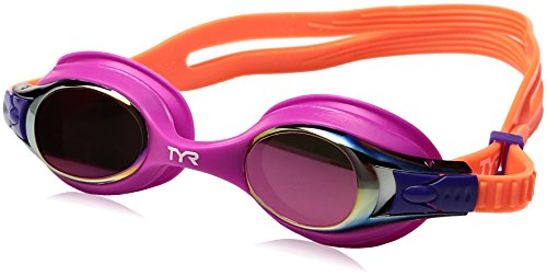 TYR SWIMPLE Goggle METLZ, pink orange, one Size