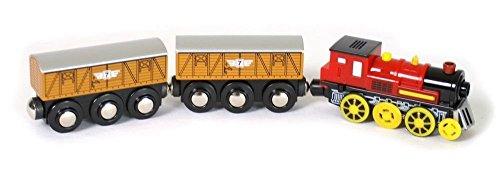 Legler 5802 - Lokomotive elektrisch mit zwei Anhänger