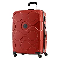 Kamiliant by American Tourister Mapuna Hardside Spinner Luggage 66cm with 3 digit Number Lock - Red