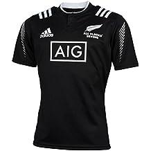 adidas All Blacks 7S - Camiseta para hombre, color azul / gris / negro / blanco