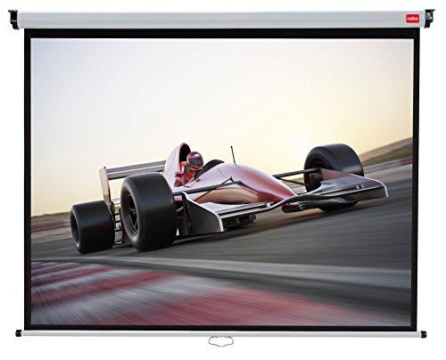 Preisvergleich Produktbild Nobo Projektionsleinwand für Heimkino/Gaming/Streaming 4:3 Bildseitenformat (2000x1513mm)