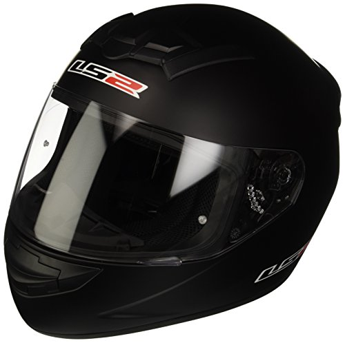 LS2 - Casco Moto, Nero Teschio, M