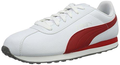 puma-turin-scarpe-da-ginnastica-basse-unisex-adulto-bianco-puma-white-barbados-cherry-15-42-eu