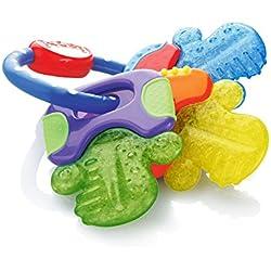 Nûby Anneaux de Dentition - Clefs de dentition réfrigérantes Ice-Gel