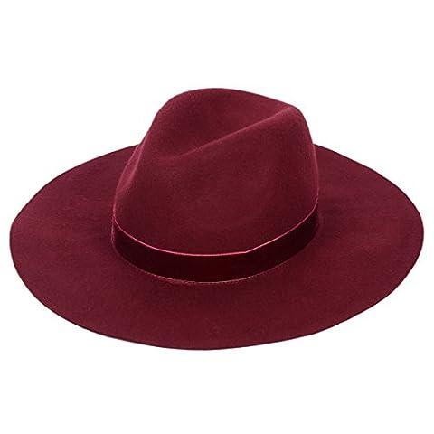 Cowgirl Costume Australie - Panama Feutre Chapeau Femme Chapeau de Fedora