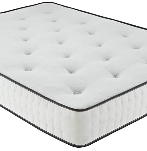 Luxury 1500 Pocket Spring Memory Foam Mattress (3ft Single)